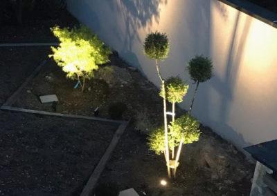 Jardidéal PAYSAGISTE, Nantes : mise en place d'un éclairage lightpro