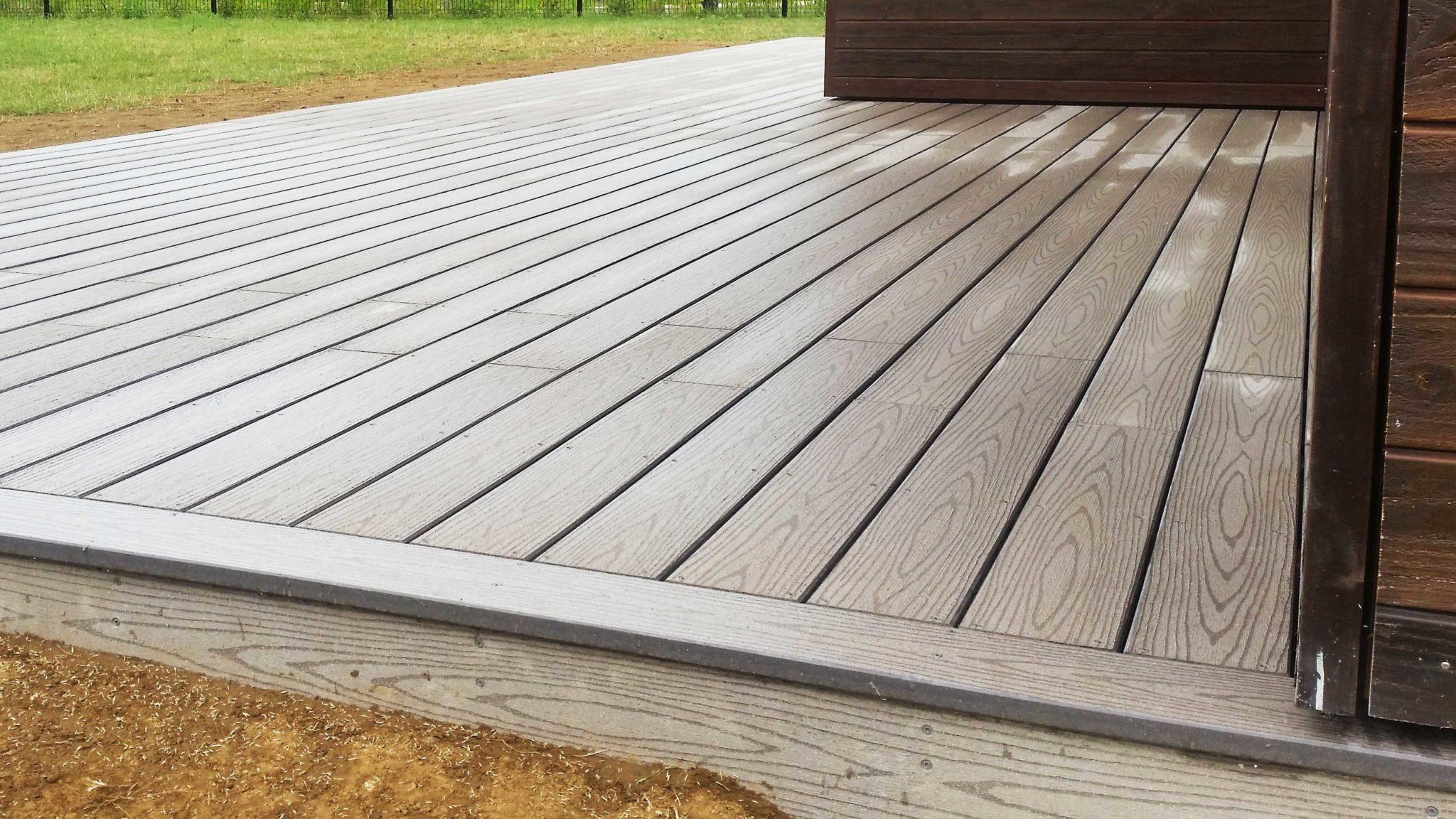 Terrasse composite Timbertech grise