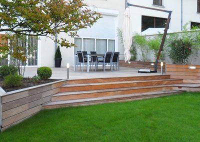 Aménagement jardin par Jardideal PAYSAGISTE Nantes