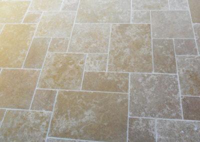 Jardidéal Paysagiste, Maçonnerie paysagère Nantes 44, Opus romain calcaire alambra