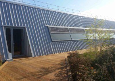 Jardidéal PAYSAGISTE Nantes 44 , réalisation d'une terrasse en bois IPE