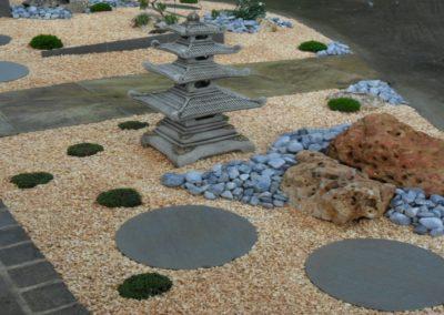 Jardin minérale inspiration japonaise